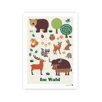 Poster Im Wald / A3
