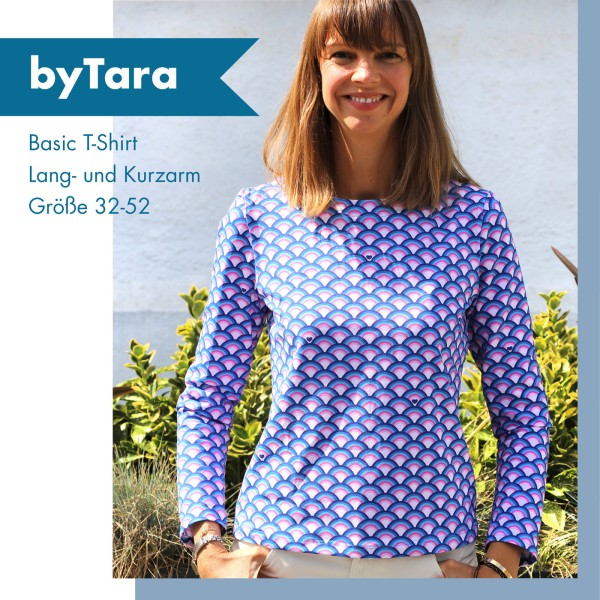 byTara - Schnittmuster-eBook - Basic T-Shirt