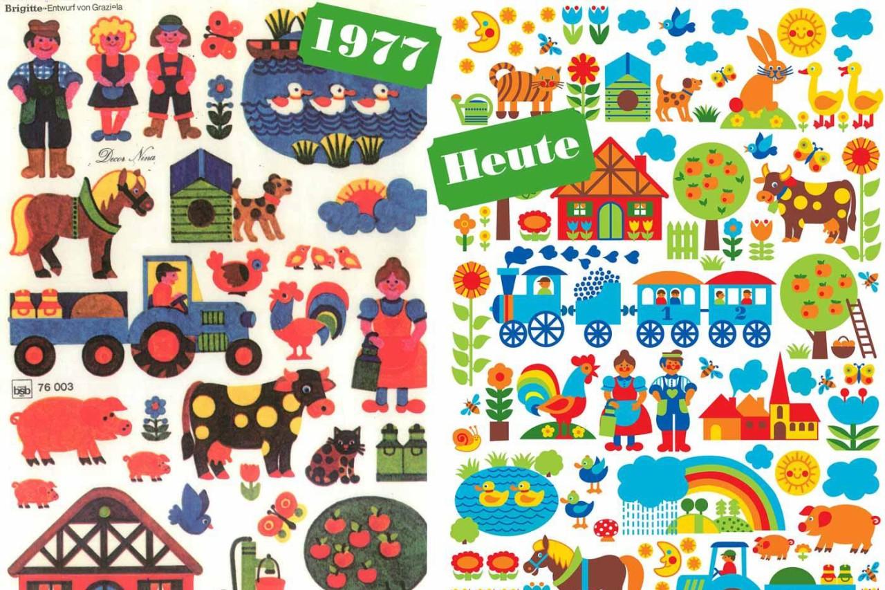 Graziela's Bauernhof-Design von 1977 - ein Klassiker