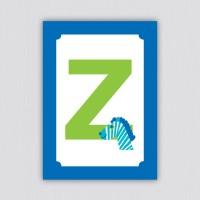 ABC Postkarte – Z