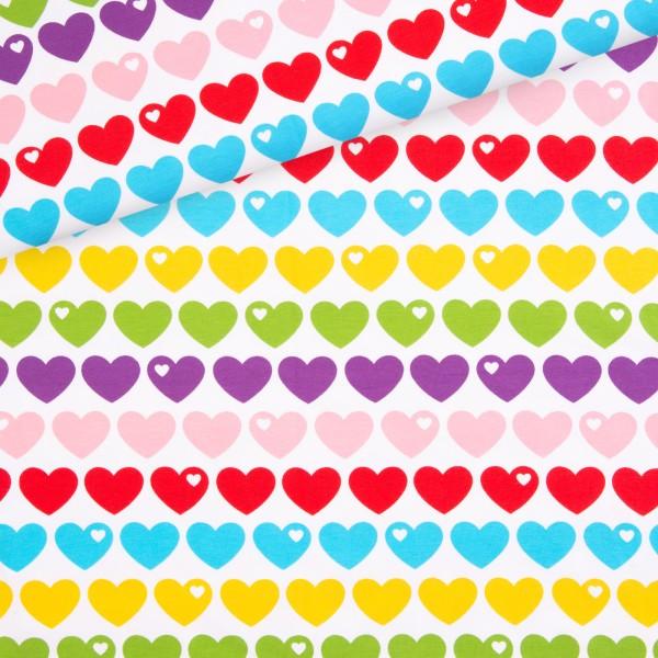 Jersey Regenbogen Herzen