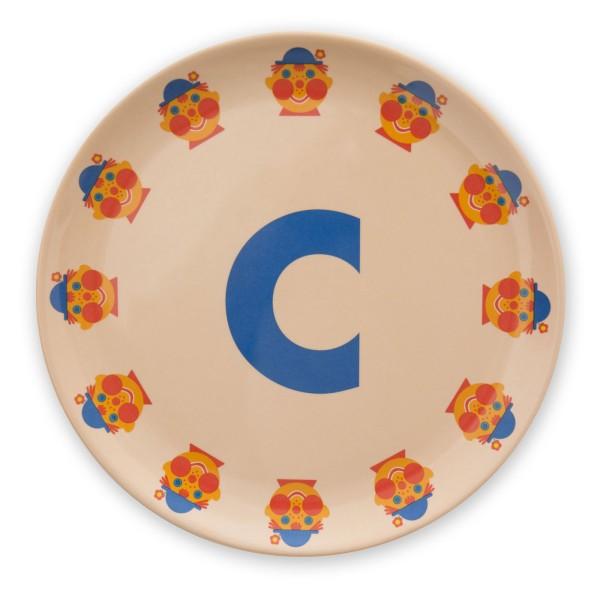 ABC Melaminteller - C