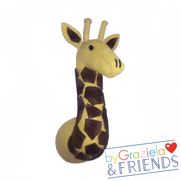 Tierkopf / Giraffe