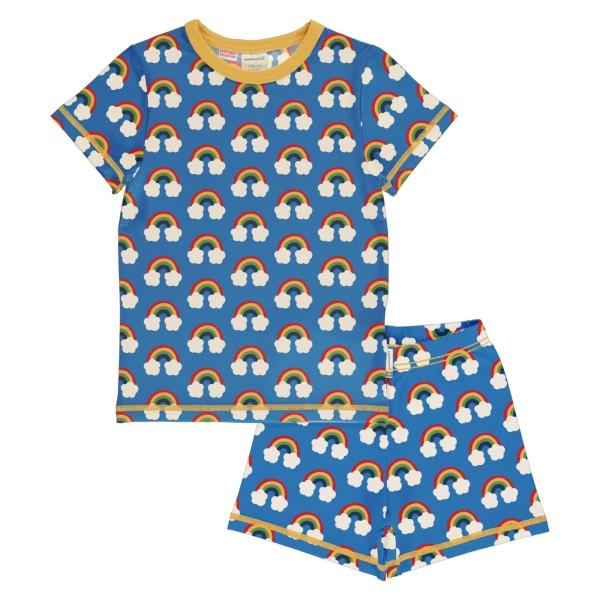 Kinderschlafanzug / Regenbogen