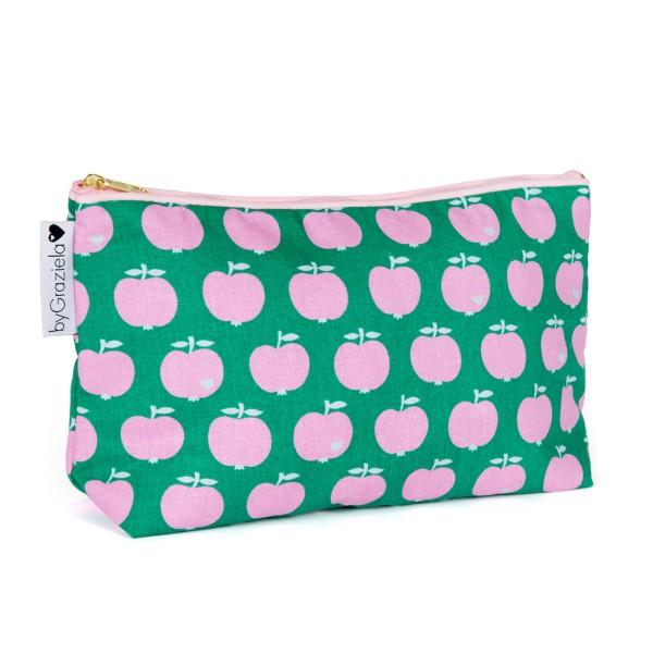 Apfel Kulturtasche / Medium