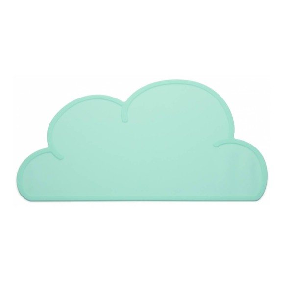 Tischset Wolke / Aqua
