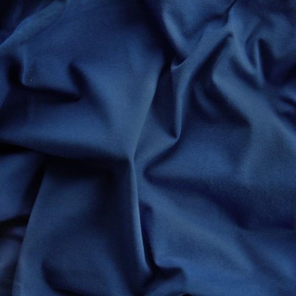 Sommersweat Uni / dunkelblau