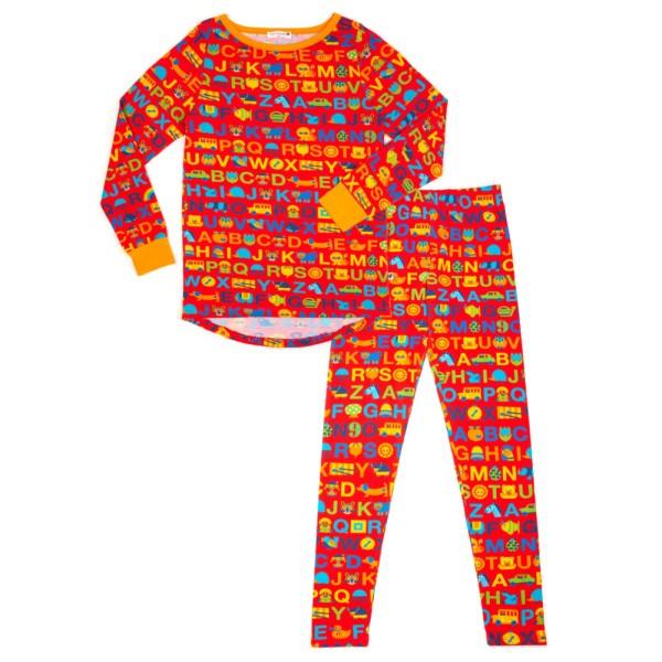 Mama Schlafanzug ABC / Rot