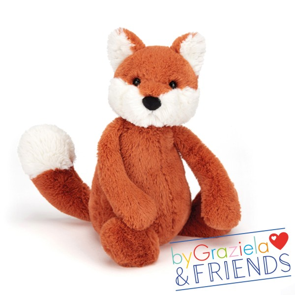"Kuscheltier Fuchs 'Bashful Fox"" / Medium 31cm"