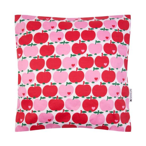Kissenbezug Apfel / Rot