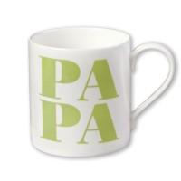 Porzellanbecher Papa / Apfel