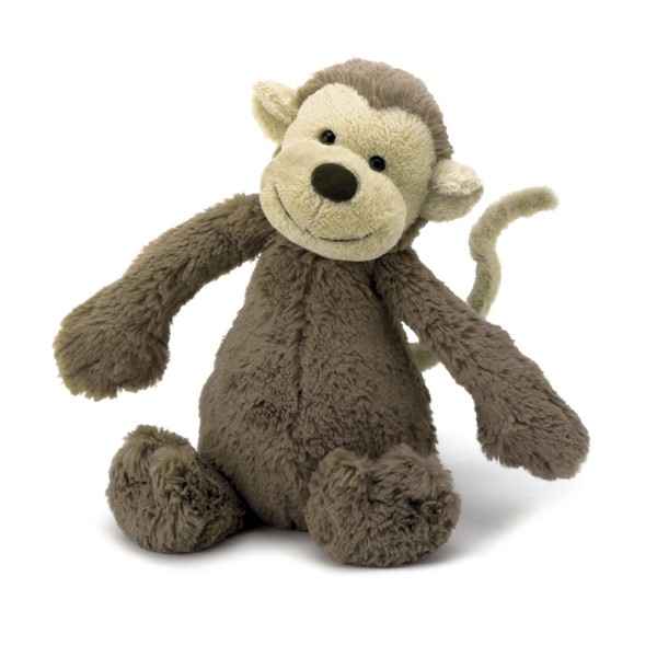 "Kuscheltier ""Bashful Monkey"" / Medium 31cm"