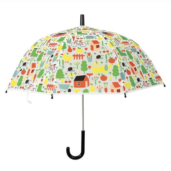Regenschirm Auf dem Land
