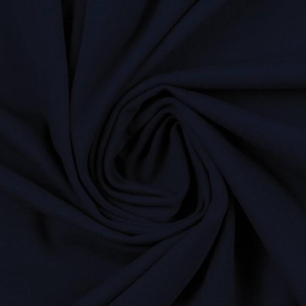 Jersey uni / Schwarz Blau