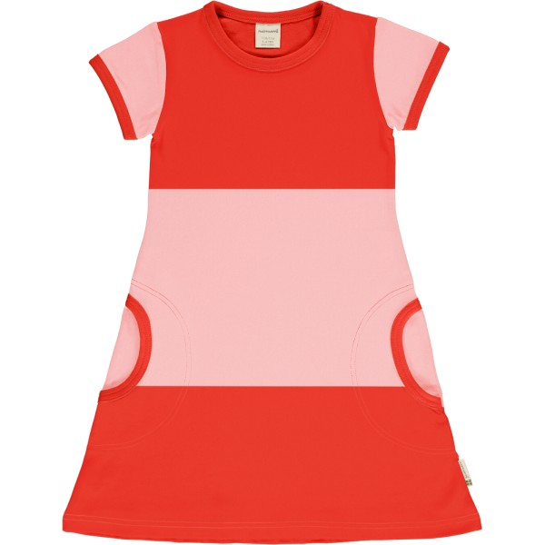 Kleid / Blockstreifen