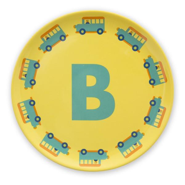 ABC Melaminteller - B