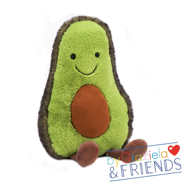 "Kuscheltier ""Amuseable Avocado"" / Medium 30cm"
