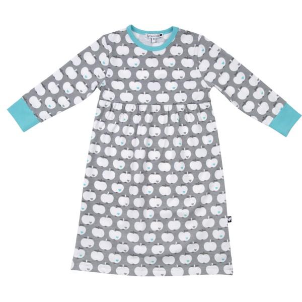 Nachthemd Apfel / Grau-Mint