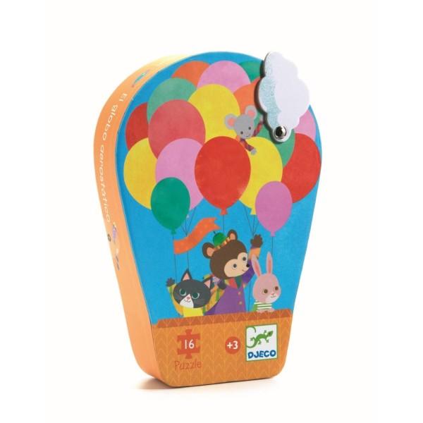 Puzzle Heißluftballon