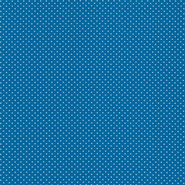 Jersey kleine Punkte / Blau