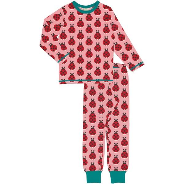 Kinderschlafanzug - Marienkäfer