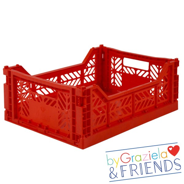 Aufbewahrungsbox / Rot