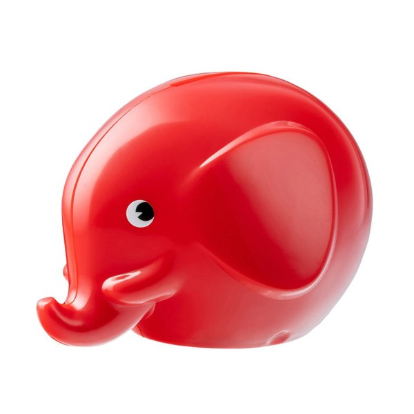 Spardose Elefant / Rot