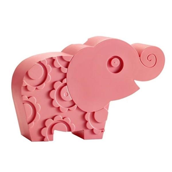 Brotdose Elefant / Rosa