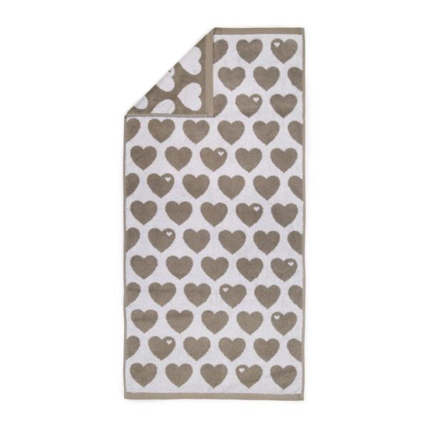 Handtuch 50 x 100 - Grau
