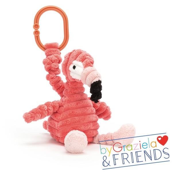 Greifling Cordy Roy Baby Flamingo