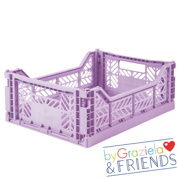 Aufbewahrungsbox / Flieder