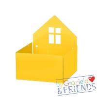 Kleine Aufbewahrungsbox / Gelb