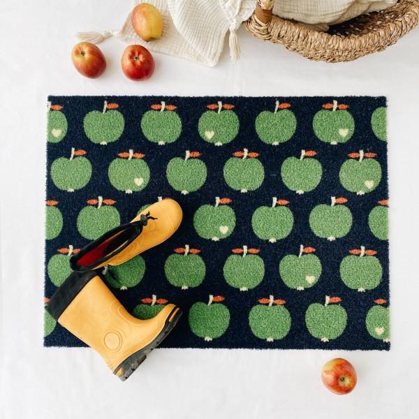 Fußmatte / Apfel
