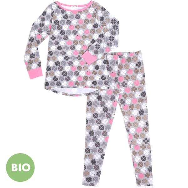 Mama Schlafanzug Kleeblatt / Rosa