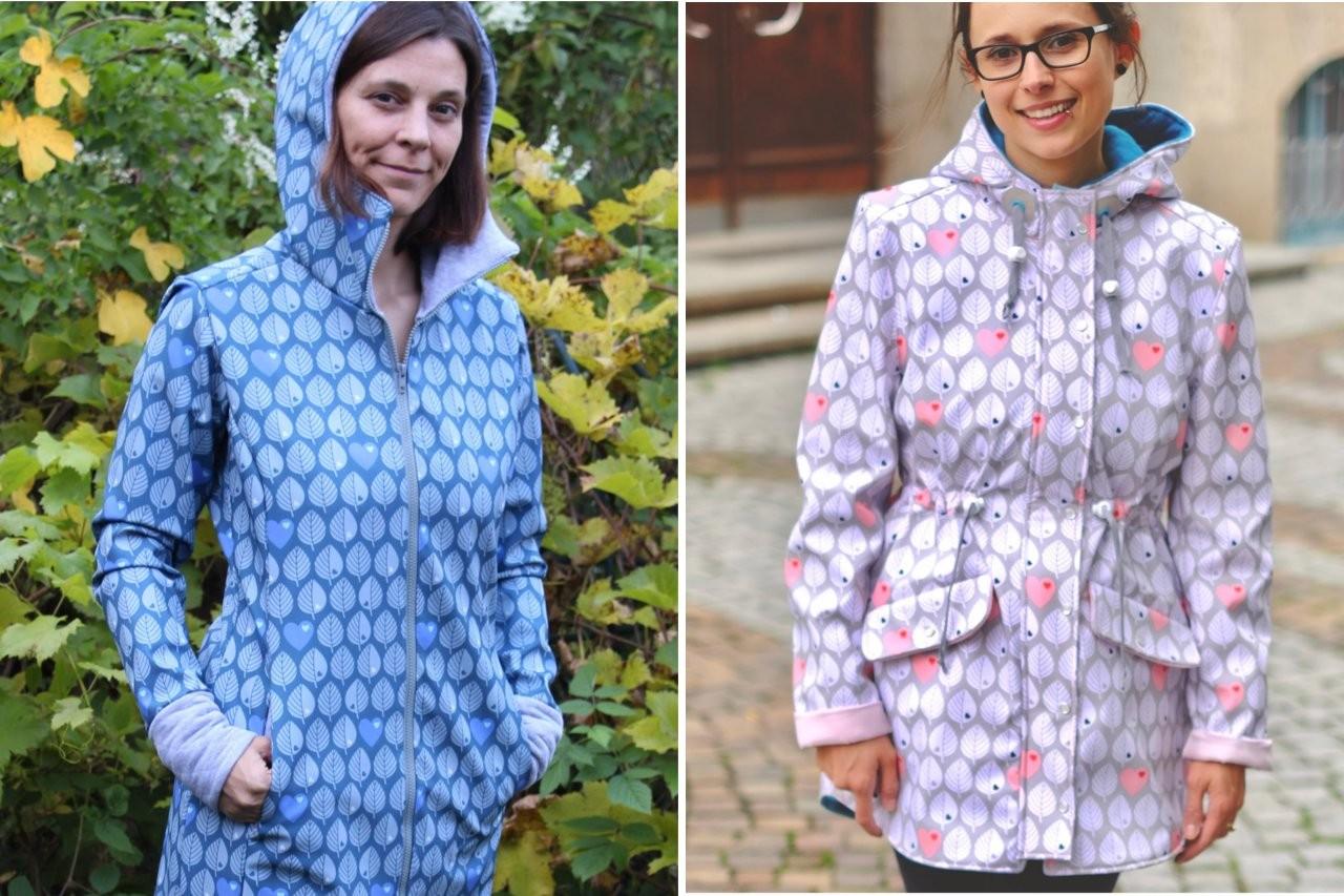 Jacken für Damen aus Softshell nähen