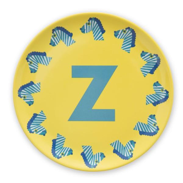 ABC Melaminteller - Z