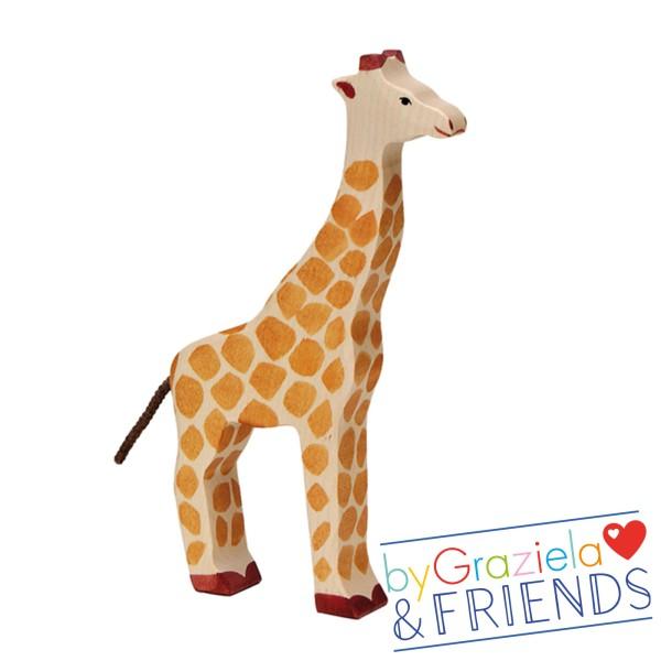 Holztier / Giraffe
