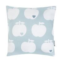 Wende-Kissenbezug Apfel / Tupfen