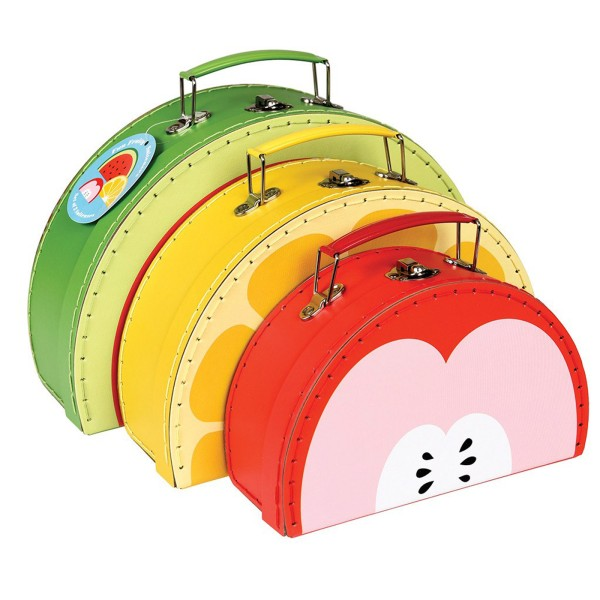 Spielkoffer-Set Obst