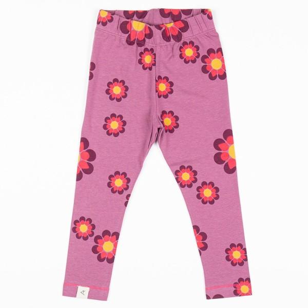 Leggings / Retro Blumen