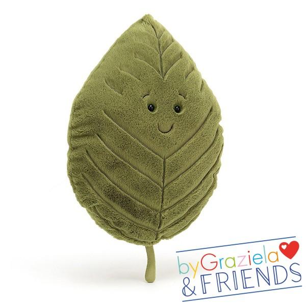 """Kuscheltier """"Woodland Beech Leaf"""" / 41cm"""