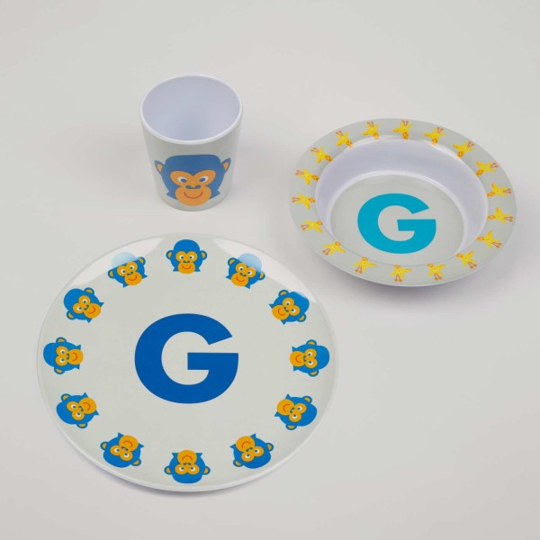 ABC Melamingeschirr-Set G