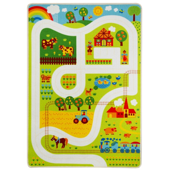 Spielteppich / Bauernhof