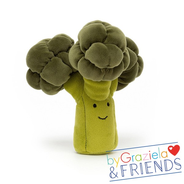 "Kuscheltier ""Vivacious Vegetable Broccoli"" / 17cm"