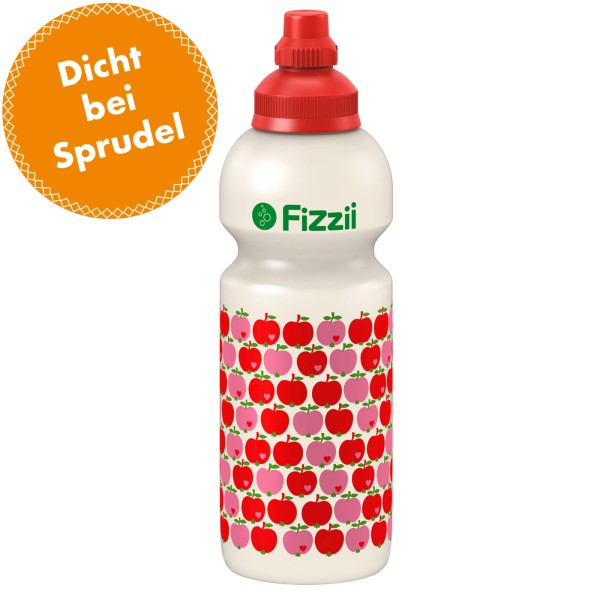 Fizzii Große Trinkflasche / Apfel