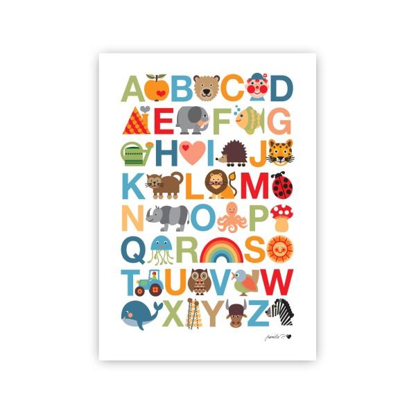 ABC Poster Natur / A3