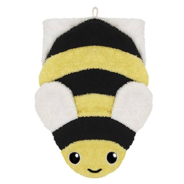 Waschlappen Biene