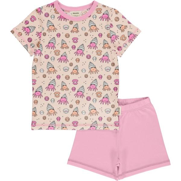 Kurzer Schlafanzug / Krabbe