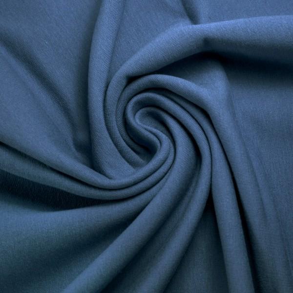 Jersey uni / Jeansblau