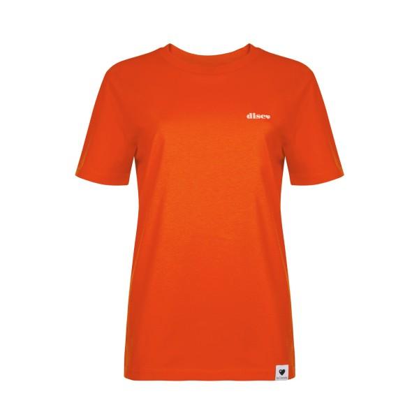 T-Shirt Disco - Orangerot